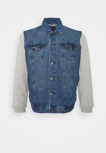 JAGUAR JACKET - Denim jacket - light blue