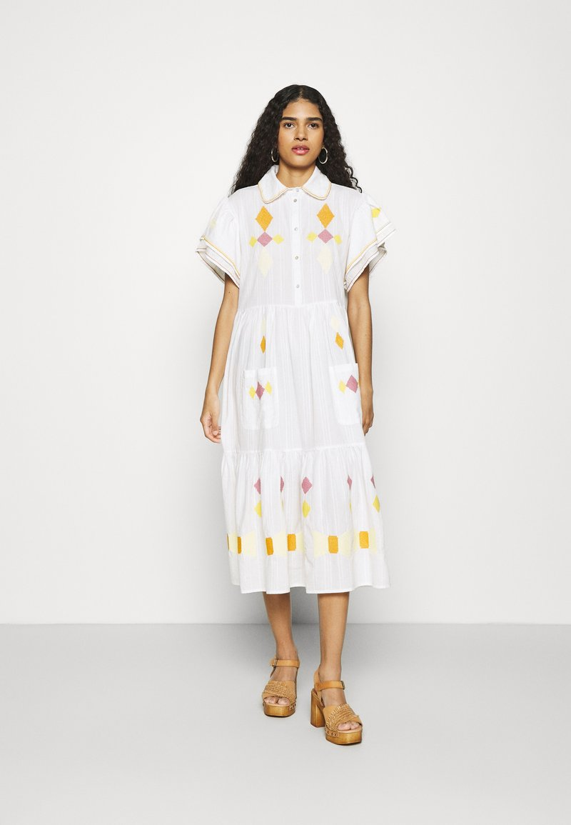 Stella Nova - RANYA - Shirt dress - ivory