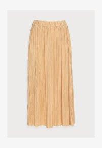 UMA SKIRT - Pleated skirt - curry