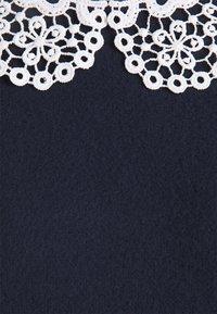 Vero Moda - VMTAMIRA COLLAR - Print T-shirt - night sky/snow white - 2