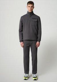 Napapijri - Sweatshirt - dark grey solid - 1