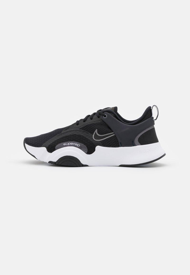 Nike Performance - SUPERREP GO 2 - Treningssko - black/metallic dark grey/white/black/pure platinum/dark obsidian