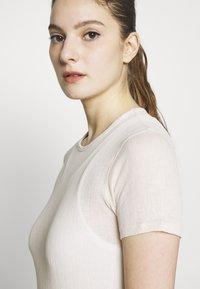Filippa K - SHEER TEE - T-shirt basic - bone - 3