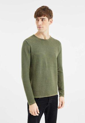 Jumper - olive green