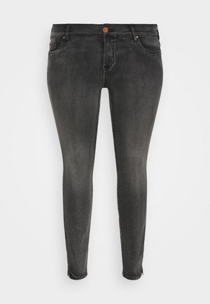 LONG SANNA - Jeans Skinny Fit - dark grey denim
