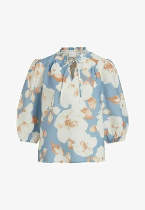 Blouse - blue bell