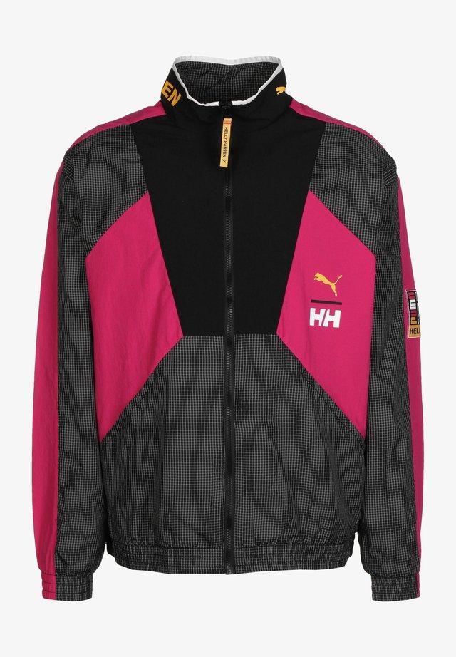 X HELLY HANSEN TRACK - Summer jacket - light pink