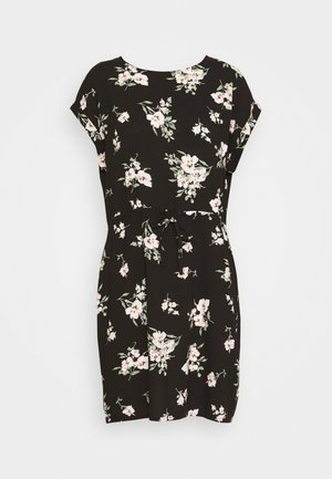 VMSIMPLY EASY SHORT DRESS - Freizeitkleid - black