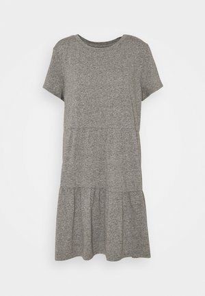 TIERED - Jerseyjurk - light heather grey