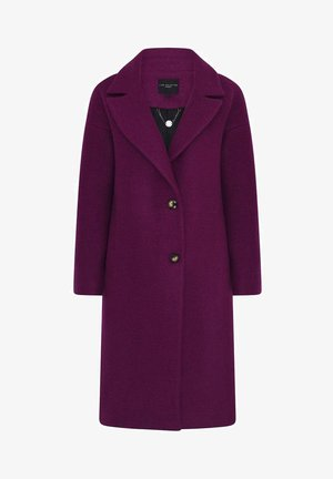 Classic coat - dark purple