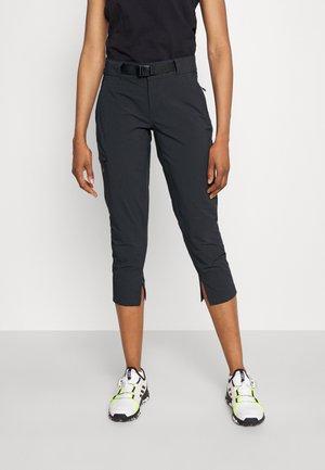 MUIR PASS™ II CROPPED PANT - Pantalón 3/4 de deporte - black