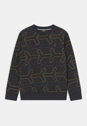 ALLOVER Y CREW NECK - Sweatshirt - black