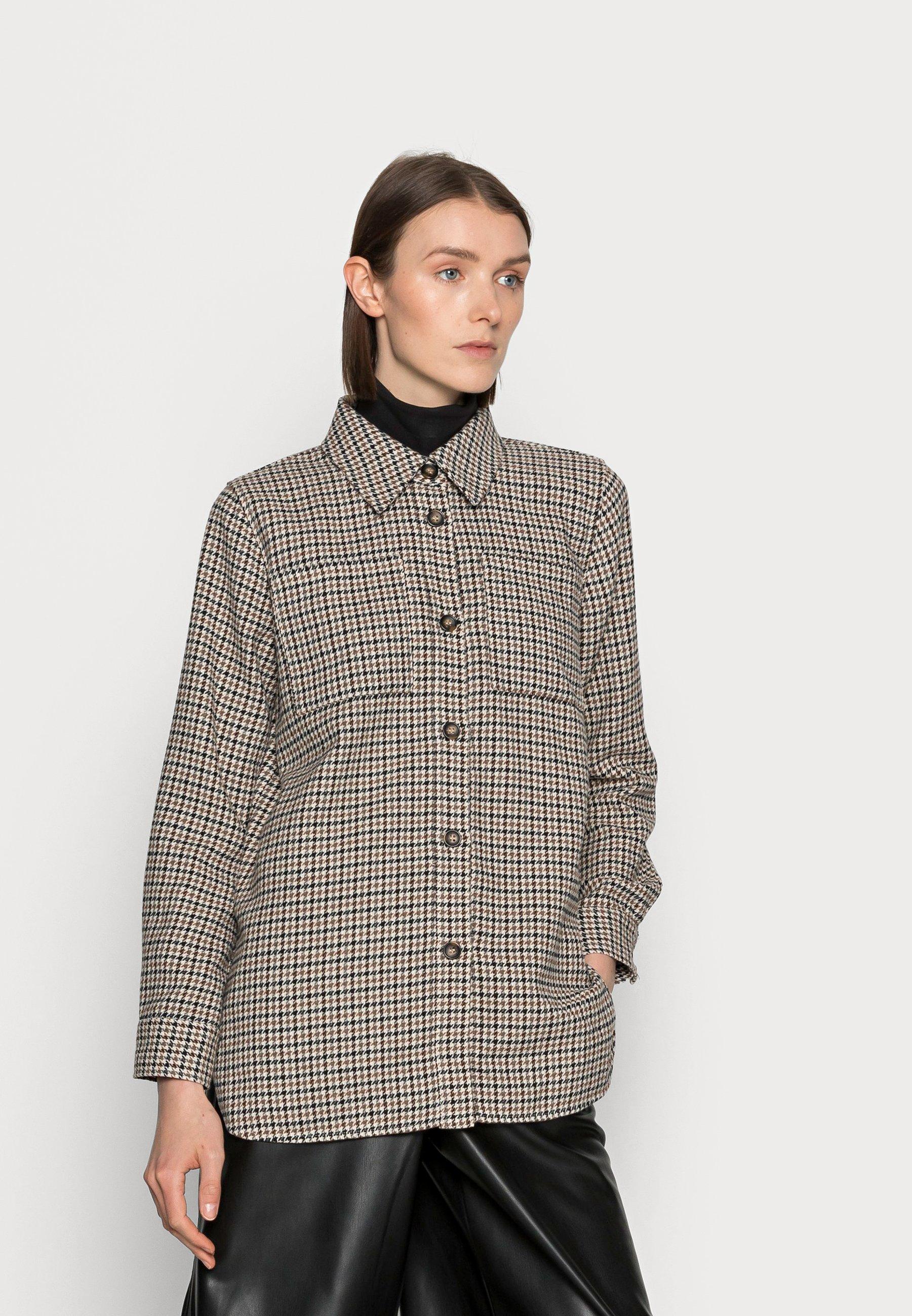 Damen KASECA CHECKED - Leichte Jacke
