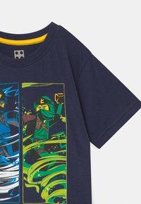 LEGO Wear - Print T-shirt - dark navy - 2