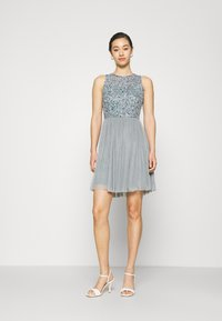 Lace & Beads - AVIANNA SKATER - Cocktail dress / Party dress - teal - 1