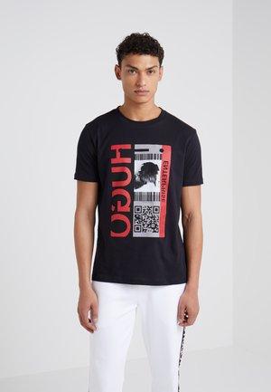 DIDENTITY - Camiseta estampada - black