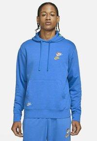 Nike Sportswear - Luvtröja - signal blue/signal blue - 1