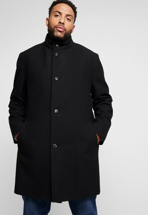 COAT PLUS - Mantel - black