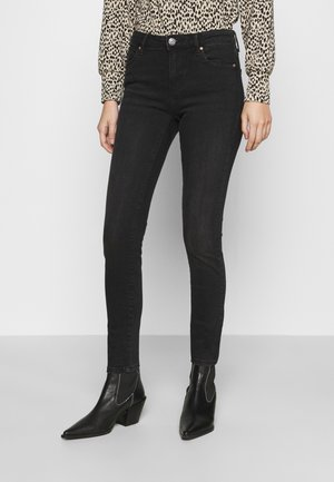 ONLCARMEN LIFE - Jeans Skinny Fit - black denim