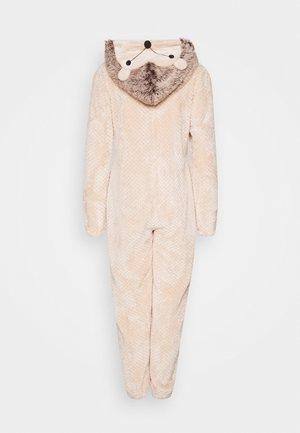 HEDGEHOG ONESIE - Pyjama - beige