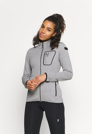 VALENCIEN - Fleece jacket - light grey