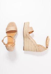 Tata Italia - Korolliset sandaalit - beige - 3
