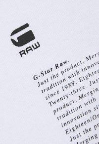 G-Star - MULTI ARM GR SHIELD R T L\S - Long sleeved top - white - 2