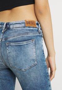 Diesel - D-SLANDY - Bootcut jeans - light blue - 3