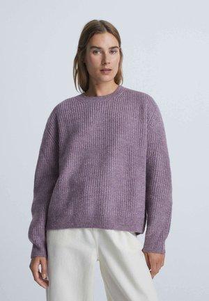 Sweter - mauve