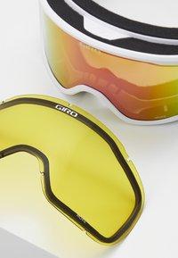 Giro - MOXIE - Skidglasögon - white core light/amber pink - 2