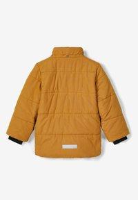 Name it - Winter jacket - bronze - 4