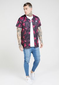 SIKSILK - PLEATED  - Vaqueros pitillo - blue - 1