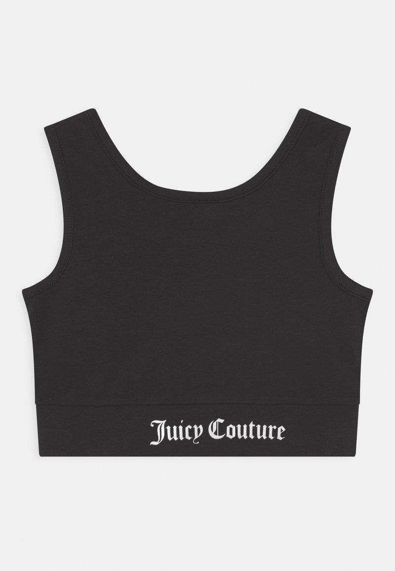 Juicy Couture - CROP - Top - black