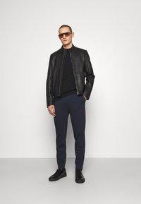 HUGO - LOKIS - Leather jacket - black - 1
