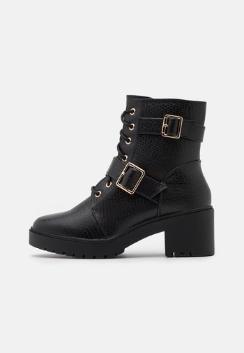 MARLEY BLOCK HEEL CLEAT BOOT