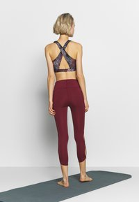 Free People - HIGH RISE INFINITY - Tights - wine - 2