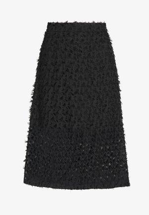 FUMI SKIRT - Jupe trapèze - black