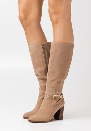 LEATHER - Bottes - nude