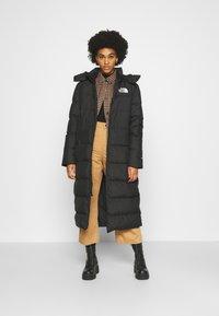 The North Face - TRIPLE PARKA - Down coat - black - 1
