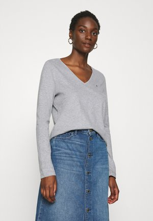 CLASSIC - Long sleeved top - mid grey heather