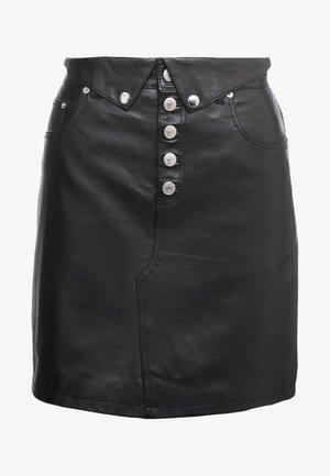 JUPE - Mini skirt - black