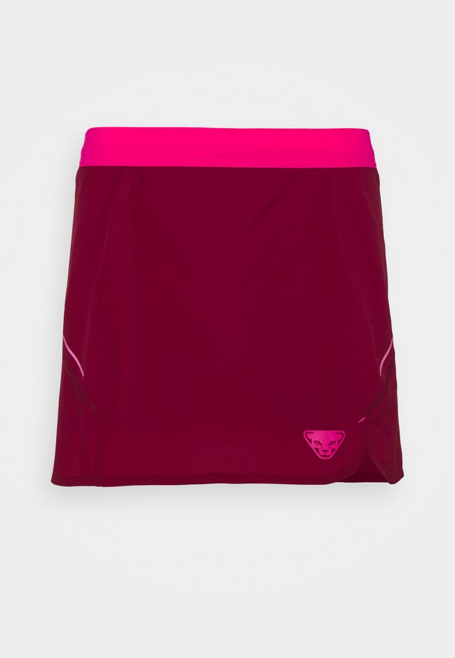 ALPINE PRO SKIRT - Rokken - beet red