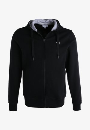 HERREN SWEATJACKE-SH7609 - Zip-up hoodie - noir/argent chine