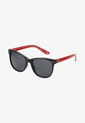 SUNGLASS KID - Solbriller - black/red/smoke