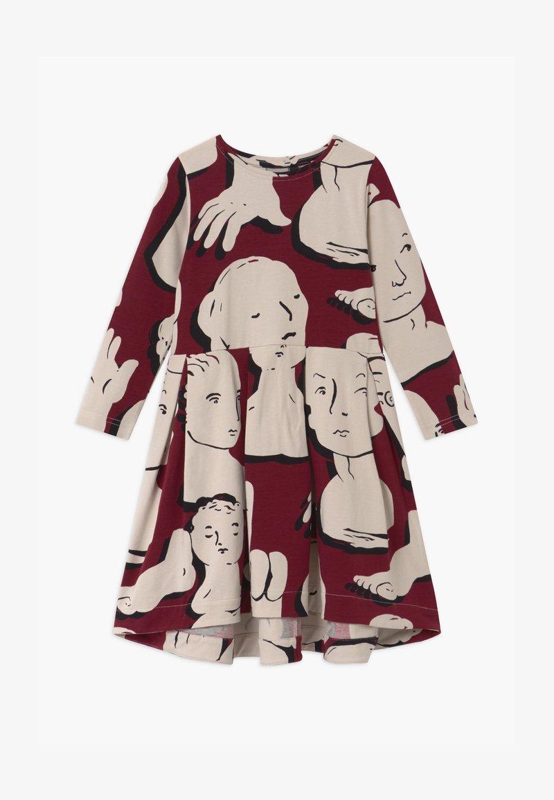 Papu - SWING - Žerzejové šaty - bordeaux