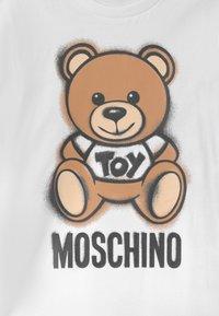 MOSCHINO - UNISEX - Long sleeved top - optic white - 2