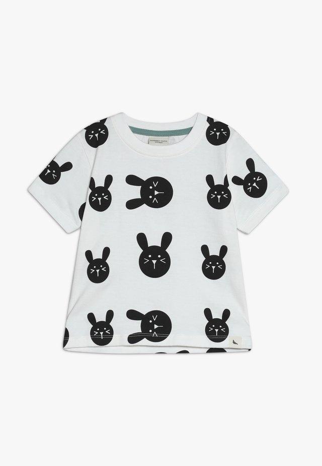 BUNNY PRINT BABY - T-Shirt print - white