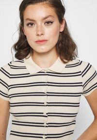 BDG Urban Outfitters - STRIPED COLLARED - Button-down blouse - black/beige - 3
