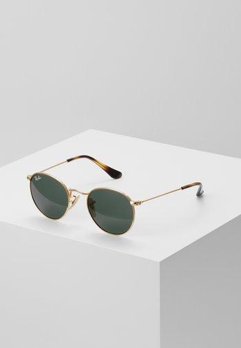 JUNIOR ROUND - Sunglasses - gold-coloured/grey