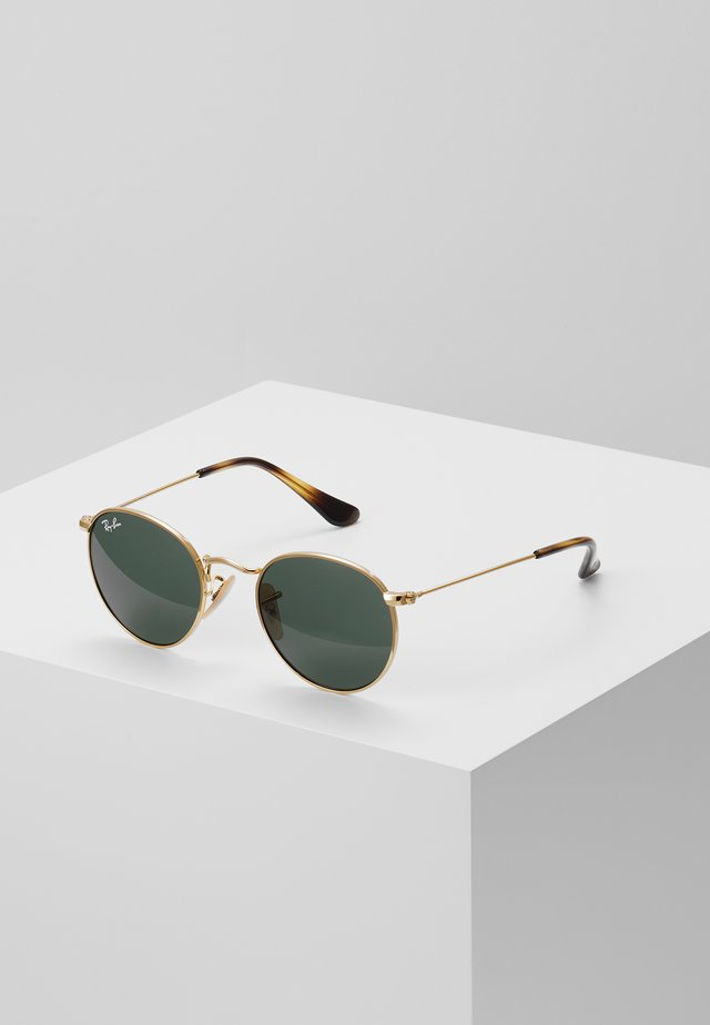 JUNIOR ROUND - Sunglasses - gold-coloured/grey